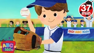 Take Me Out to the Ball Game (2D) | +More Nursery Rhymes & Kids Songs - Cocomelon (ABCkidTV)