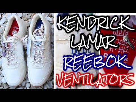 Kendrick Lamar x Reebok Ventilator W/ OnFeet Review