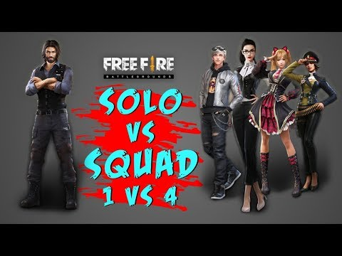 COBRA SOLO VS SQUAD BOOYAH GAMEPLAY - GARENA FREE FIRE- TOTAL GAMING