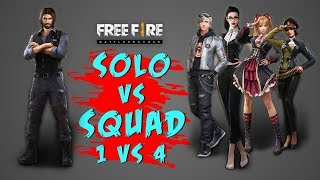 COBRA SOLO VS SQUAD BOOYAH GAMEPLAY   GARENA FREE FIRE  TOTAL GAMING