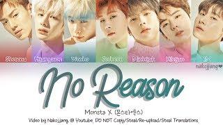 Monsta X (몬스타엑스) – No Reason (Color Coded Lyrics Eng/Rom/Han/가사)