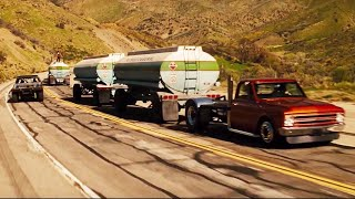 Fast and Furious 4 - Gas scene  Grand national gnx VS Gas truck