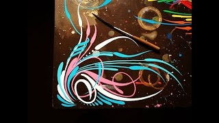 Hand pinstriping most popular videos how to pinstripe southwest scroll publicscrutiny Image collections