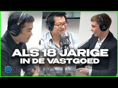 Als 18 jarige Investeren In Vastgoed   De Vastgoedshow Podcast
