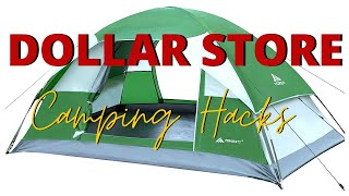 DOLLAR TREE ESSENTIALS | CAMPING MADE EASY