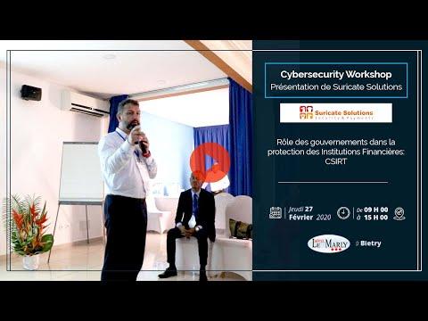 <a href='https://www.akody.com/business/news/business-cyber-security-workshop-role-des-gouvernements-dans-la-protection-des-institutions-financieres-csirt-presente-par-suricate-solutions-325818'>Business: CYBER SECURITY WORKSHOP, Rôle des gouvernements dans la protection des Institutions Financières (CSIRT) présenté par Suricate Solutions</a>
