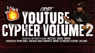 CRYPT REACTS to YouTube Cypher Vol. 2 ft. Mac Lethal, Quadeca, & More
