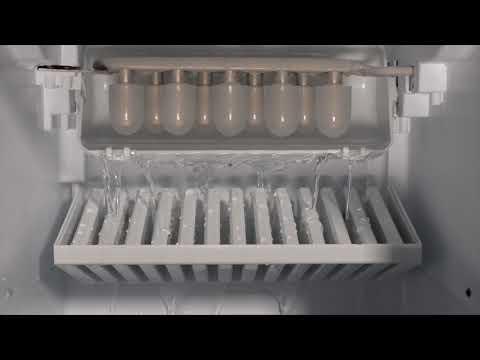 Datron   Tutorial utilizzo macchina del ghiaccio con grande ricarica black 12 kg