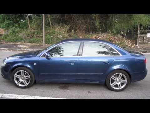 2005 Audi A4 2.0T quattro Start-Up, Full Vehicle Tour and Short Drive