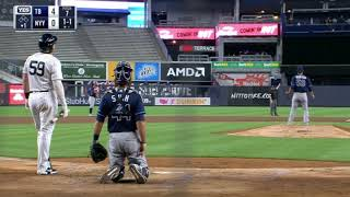 Drone interrupts Tampa Bay Ray and New York Yankees game 9.2