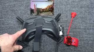 DJI FPV - Goggles with analog - better than Fatshark HDO фото
