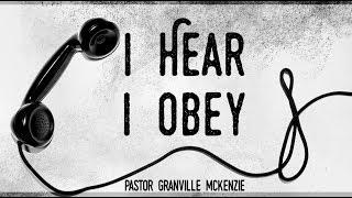 I Hear I Obey