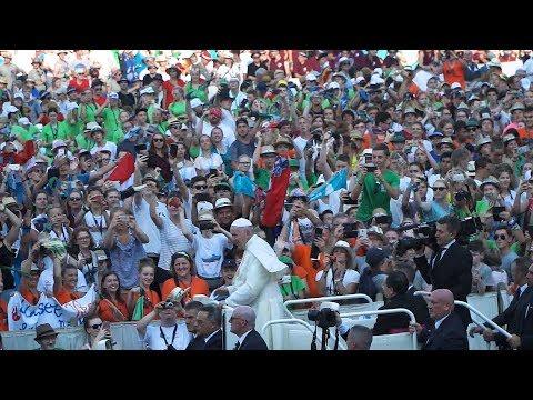 Audienz mit Papst Franziskus - Romwallfahrt 2018
