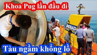 Chủ tịch Khoa Pug mạnh tay thuê tàu ngầm khổng lồ lặn ngắm cá mập 15 phút vì cameraman đòi đi