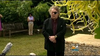 World Renowned Artist Dale Chihuly Back At Fairchild Gardens