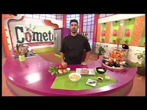 Receta: arroz de lomo y verduras
