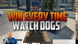 Watch Dogs - How To Win The Shell Game EVERY TIME - Yes, by cheating. | Swiftor