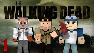 Minecraft - The Walking Dead! Episode 1 (Crafting Dead Mod)