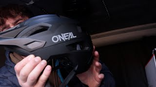 O'neal Trailfinder MTB Helmet Short Review | Out on the Bikes | Funny Moments