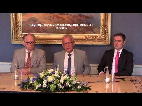 Riigikogu kevadistungjärgu lõpp 2017