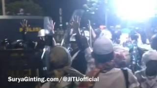 """Aksi Damai Bela Islam 411 :  """"Dua Jam Digempur Gas Air Mata"""" (rough Cut)"""
