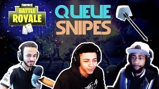 Daequan Vs Myth Vs Hamlinz 🥊Queue Snipes🥊 (Fortnite)
