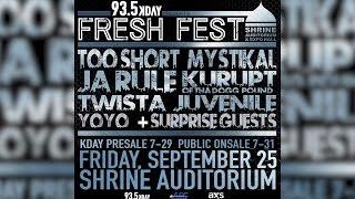"KDay's program director, AD, talks the fifth annual ""Fresh Fest"""