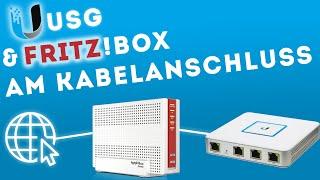 FritzBox & Unifi USG - doppeltes NAT bei Vodafone? Der Bridgemode!