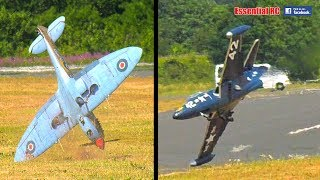 BEST COMPILATION of BAD (and CRASH) RC LANDINGS #1