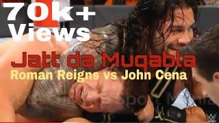 Jatt Da Muqabla|| Sidhu Moose Wala Ft. Roman Reigns Vs John Ceena