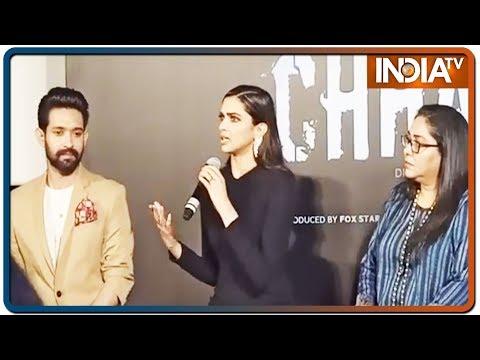 Deepika Padukone talks about upcoming film 'Chhapaak' | IndiaTV News