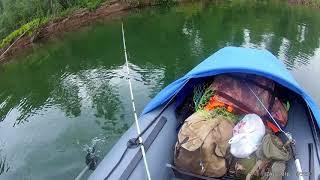 Ловля хариуса по реке амылу