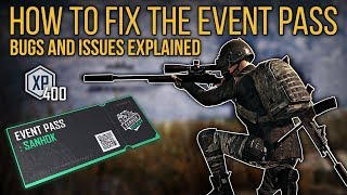 PUBG Guide | EVENT PASS BUGS AND ISSUES EXPLAINED | How To Complete Bugged Missions