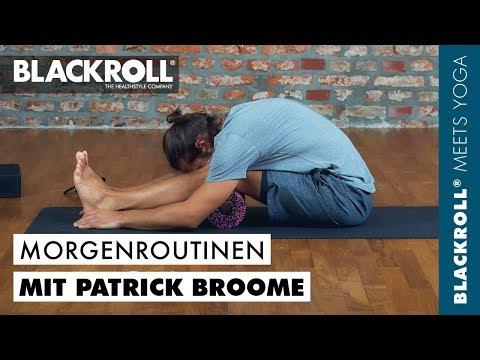 Yoga Morgenroutine mit Patrick Broome und BLACKROLL®