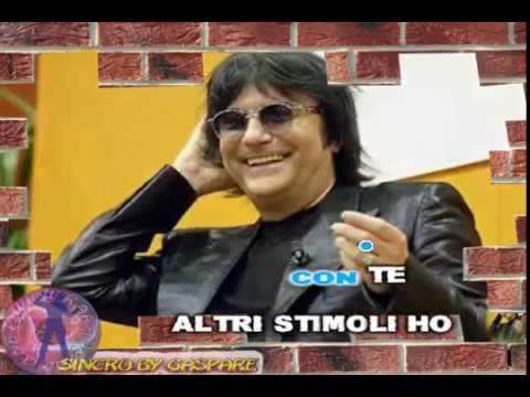 Renato Zero - Emergenza noia (karaoke - fair use)