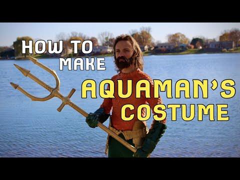 Make Your Own Aquaman Costume! (DIY)