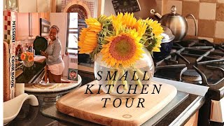 Small Galley Kitchen Tour And Organization