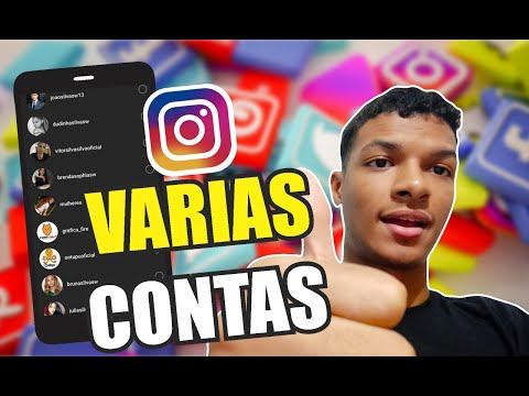 COMO CONECTAR VARIAS CONTAS NO INSTAGRAM - DIZU