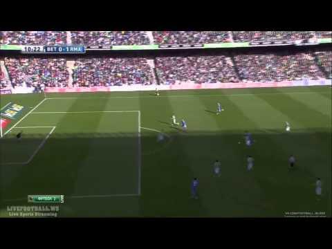 • Cristiano Ronaldo • Amazing Goal 133 km/h  ~  vs Real Betis