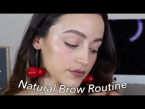 FEATHERY BROWS | Natural + Bold Updated Brow Routine