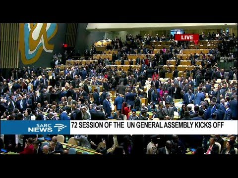 The UN 72nd General Debate