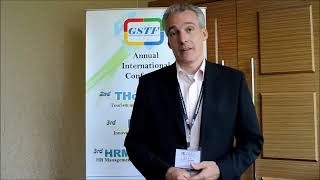Dr. Richard Geibel at IE Conference 2013 by GSTF