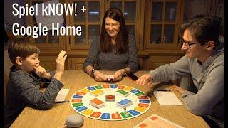 Spiel mit Google Home - kNOW! von Ravensburger - Smartes Game - Fazit und Let´s Play