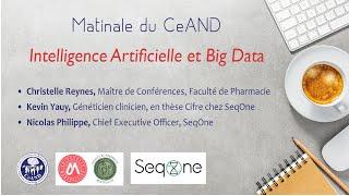 Matinale du CeAND - Intelligence Artificielle et Big Data