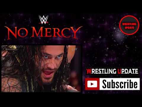 John Cena Vs Roman Reigns FULL MATCH   WWE No Mercy 2017 720p   YouTube
