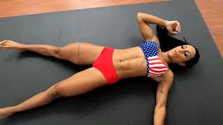 Bikini Girls Six-Pack Abs Workout At Home!