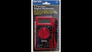 How to use a Digital Multimeter Test meter