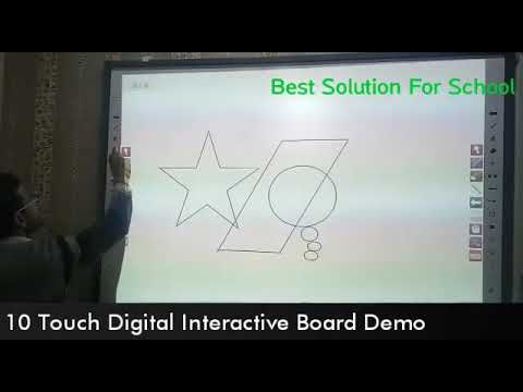 Smart Interactive Whiteboard- Infra Red Technology