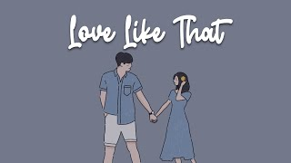 Lauv - Love Like That (lyric video)