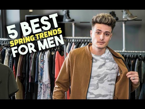 5 AWESOME Spring Style Trends For Guys | BluMaan 2018
